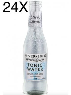 24 BOTTLES - Fever-Tree - Refreshingly Light - Naturally Light Tonic Water - 20cl