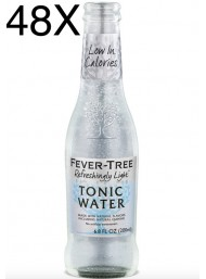 48 BOTTIGLIE - Fever Tree - Refreshingly Light - Naturally Light Tonic Water - Acqua Tonica - 20cl