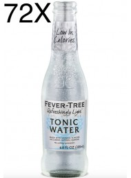 72 BOTTIGLIE - Fever Tree - Refreshingly Light - Naturally Light Tonic Water - Acqua Tonica - 20cl