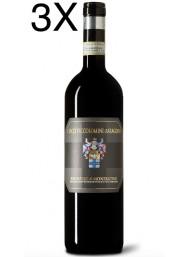 (3 BOTTLES) Ciacci Piccolomini d'Aragona - Brunello di Montalcino 2013 - DOC - 75cl