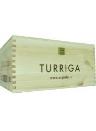 Cassetta Legno Turriga con Coperchio