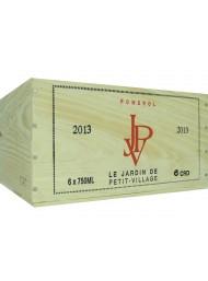 Wood Box Le Jardine de Petit Vilage 2013 - Pomerol