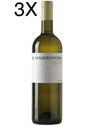 (3 BOTTIGLIE) Mandrarossa - Laguna Secca 2019 - Chardonnay - Sicilia DOC - 75cl