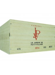 Wood Box Le Jardine de Petit Vilage 2014 - Pomerol