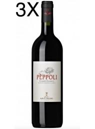 (3 BOTTIGLIE) Antinori - Peppoli - Chianti Classico 2018 - DOCG - 75cl