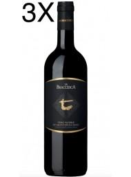 (3 BOTTIGLIE) Antinori - La Braccesca 2016 - Vino Nobile di Montepulciano DOCG - 75cl