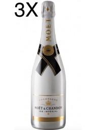 (3 BOTTLES) Moët & Chandon - Ice Impérial - Champagne - 75cl