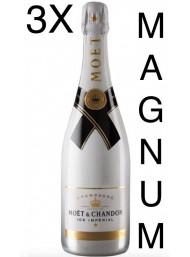 (3 BOTTIGLIE) Moët & Chandon - Ice Impérial - Magnum - Champagne