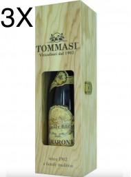 (3 BOTTLES) Tommasi - Amarone 2015 - Amarone della Valpolicella Classico DOCG - Wood Box - 75cl