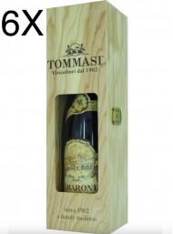 (6 BOTTLES) Tommasi - Amarone 2015 - Amarone della Valpolicella Classico DOCG - Wood Box - 75cl