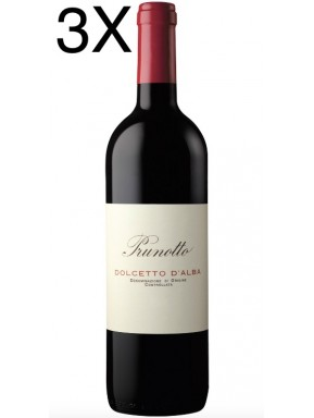 (3 BOTTLES) Prunotto - Dolcetto d'Alba 2019 - DOC - 75cl