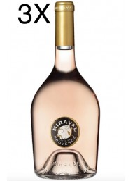 (3 BOTTLES) Miraval - Côtes de Provence Rosé 2018 - 75cl