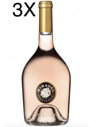 (3 BOTTIGLIE) Miraval - Côtes de Provence Rosé 2018 - 75cl