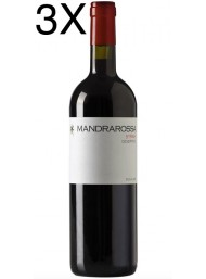 (3 BOTTIGLIE) Mandrarossa - Syrah 2020 - Desertico - Sicilia DOC - 75cl