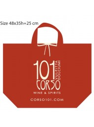Gift Package - bag in non-woven fabric red - Standard