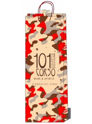 Bag - Red Camouflage - Corso101 - Single Bottle