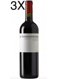 (3 BOTTLES) Mandrarossa - Cabernet Sauvignon 2020 - Serra Brada - Sicilia DOC - 75cl