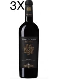(3 BOTTIGLIE) Tormaresca - Torcicoda 2017 - Primitivo del Salento IGT - 75cl