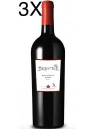 (3 BOTTLES) Lungarotti - Montefalco Rosso 2016 - DOC - Organic Wine - 75cl