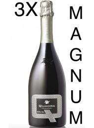 (3 BOTTLES) Quadra - QSaten 2013 - Franciacorta DOCG - Magnum - 150cl