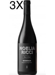 (3 BOTTIGLIE) Noelia Ricci - Godenza 2018 - Sangiovese di Romagna DOC Predappio - 75cl
