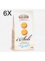 "(6 CONFEZIONI X 350G) Corsini - Biscotti ""I Soli"" Senza Zucchero -"