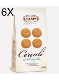 """(6 CONFEZIONI X 350G) Corsini - Biscotti """"Cereali"""" -"""