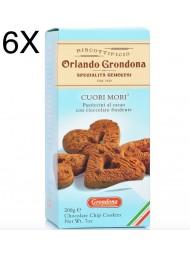 (6 CONFEZIONI X 200g) Grondona - Cuori Mori