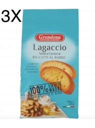 (3 CONFEZIONI X 250g) Grondona - Lagaccio Antica Genova