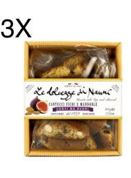 (3 PACKS) Nanni - Cantucci Almond and Figs - 200g