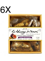 (6 PACKS) Nanni - Cantucci Almond and Figs - 200g