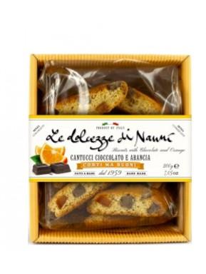 Nanni - Cantucci Chocolate and Orange - 200g