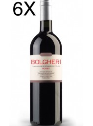 (6 BOTTLES) Castello Collemassari - Bolgheri Rosso 2019 - Podere Grattamacco - Bolgheri DOC