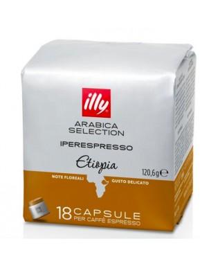 Illy Monoarabica Ethiopia - 18 Capsule