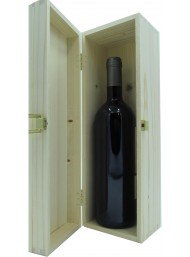 """Cassetta Legno Corso101 - Bottiglia Singola """"Bordolese"""""""