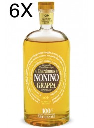 (6 BOTTLES) Nonino - Grappa Chardonnay Barriques - 12 Months -  Limited Edition - 70cl