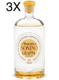 (3 BOTTLES) Nonino - Grappa Il Moscato Limited Edition - 70cl