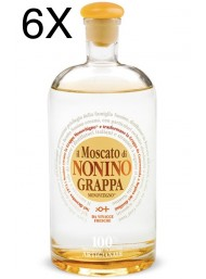 (6 BOTTLES) Nonino - Grappa Il Moscato Limited Edition - 70cl