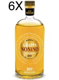 (6 BOTTLES) Nonino - Grappa Vendemmia Barriques - Reserve 18 Months - 70cl