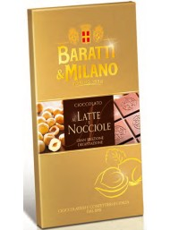 Baratti & Milano - Milk and Hazelnuts - 75g