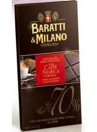 Baratti & Milano - Fondente 70% con Caffè Arabica - 75g
