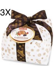 (3 PANETTONI X 1000g) Albertengo - Cioccolato