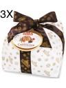 (3 PANETTONI X 1000g) Albertengo - Chocolate