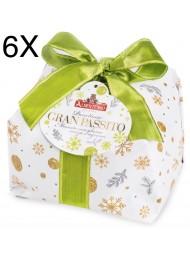 (3 PANETTONI X 1000g) Albertengo - Gran Passito - NEW