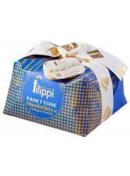 Filippi - Panettone Glassato al Torrone Mandorlato - 1000g