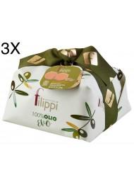 (3 PANETTONI X 1000g) Filippi - Olive Oil Avorie'