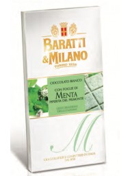 Baratti & Milano - Tavoletta Foglie di Menta - 75g