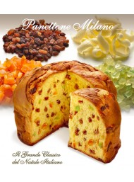 (3 PANETTONI X 1000g) Flamigni - Panettone Classic Handmade