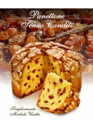 (3 PANETTONI X 1000g) Flamigni - Panettone without candies fruit