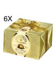 (6 PANETTONI X 950g) Flamigni - Gran Malaga - Catalan Cream